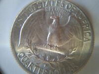 1964D EAGLE WITH HIS TONGUE HANGING OUT DEFECT VARIETY SILVER WASHINGTON QUARTER