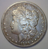 1893 O SILVER MORGAN DOLLAR COIN NEW ORLEANS MINT $1 VF SILVER ONE DOLLAR COIN