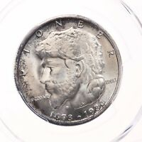 1936 ELGIN 50C PCGS CERTIFIED MINT STATE 66 MINT STATE 66 SILVER HALF DOLLAR COMMEM COIN