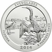 2014   ATB 5OZ SILVER EVERGLADES NATIONAL PARK