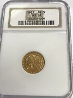 1927 $2.5 GOLD INDIAN MS62 NGC  009