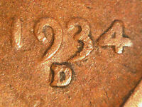 1934 D/D LINCOLN WHEAT CENT RPM 001