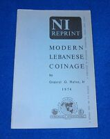 MODERN LEBANESE COINAGE 1974 GRANVYL G. HULSE JR.  EXCELLENT CONDITION