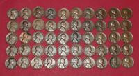 1929 S LINCOLN WHEAT CENTS ROLL   50 COINS   SUPERB COLLECTION