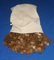 5000 LINCOLN WHEAT CENTS PENNIES BAG LOT   40'S AND 50'S   NO JUNK
