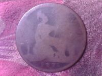 GREAT BRITAIN   ONE   PENNY   1875