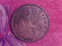 GREAT BRITAIN   HALF  PENNY   1935