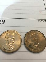 PRESIDENTIAL DOLLAR COINS  HARRISON & HAYES