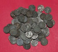 100 1943 LINCOLN WHEAT CENTS   2 ROLLS STEEL CENTS PHILADELPHIA MINT