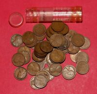 1919 LINCOLN WHEAT CENT ROLL  50 COINS