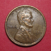 1923 LINCOLN WHEAT CENT   LAMINATION ERROR ON AN XF WOODY   IMPROPER ALLOY