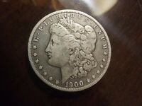 1900 0 $1 SILVER MORGAN DOLLAR NEW ORLEANS COIN FREE SHIP PRICED TO SELL SAVE $