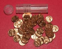 1970 D LINCOLN MEMORIAL CENT ROLL  50 COINS    BU