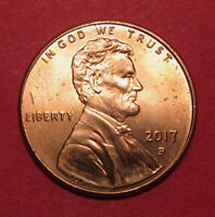 2017 P LINCOLN CENT DOUBLED DIE WDDO 001      B/U