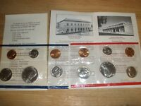 1984   P & D UNCIRCULATED COIN SET   UNITED STATES MINT