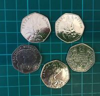 50P COIN  UK    150TH ANNIVERSARY OF BEATRIX POTTER  2016