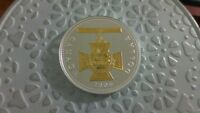 2006 VICTORIA CROSS GOLD PLATED PROOF SILVER DOLLAR