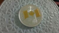 2005 40TH ANNIVERSARY OF THE FLAG GOLD PLATED PROOF SILVER DOLLAR