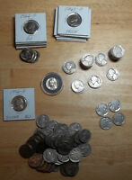 LOT OF 90 PLUS JEFFERSON AND BUFFALO NICKELS NICE COINS SOME BU SOME PROOF