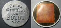 FRENCH ENCASED POSTAGE   1920 SAVON DENTIFRICE DE BOTOT   10 CENTIMES