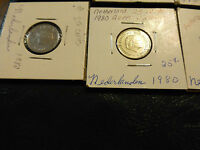 LOT OF 8 AUSTRALIA AND NEW ZEALAND COINS VARIOIUS YEARS 1966 1978