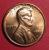 1972 D LINCOLN MEMORIAL CENT DOUBLED DIE DDO 001   B/U