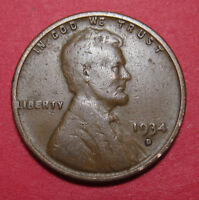 1934 D LINCOLN WHEAT CENT DOUBLED DIE DDO 001 FS 101   LEVEL 1