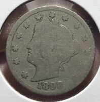 1898 LIBERTY V NICKEL.  COLLECTOR COIN FOR YOUR COLLECTION.1