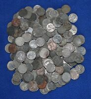 300 1943 LINCOLN WHEAT CENT STEEL PENNIES LOT