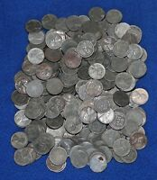 250 1943 D AND S MINT MARK LINCOLN WHEAT CENT STEEL PENNIES LOT