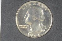 1966 25C SMS  SPECIAL STRIKE  WASHINGTON QUARTER