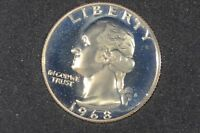 1968 S 25C  PROOF  WASHINGTON QUARTER