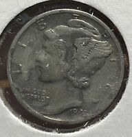 1945 MERCURY SILVER DIME MICRO.COLLECTOR COIN FOR YOUR SET OR COLLECTION. 3