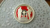 2015 100TH FLANDER'S FIELD COLOURED PROOF SILVER DOLLAR