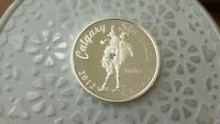 2012 100TH CALGARY STAMPEDE PROOF SILVER DOLLAR