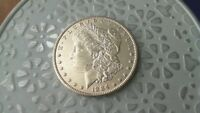 1884 P BU MORGAN SILVER DOLLAR