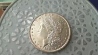 1885 P BU MORGAN SILVER DOLLAR