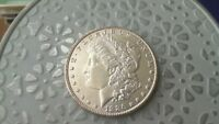 1886 P BU MORGAN SILVER DOLLAR