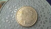 1885 P MORGAN SILVER DOLLAR