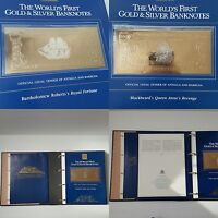 THE WORLD'S FIRST GOLD & SILVER BANKNOTES   THE SAGA OF TREASURE SHIPS & PIRATES