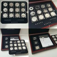 THE FABULOUS 15  2012  ONE OUNCE SILVER COIN SET  COMPLETE