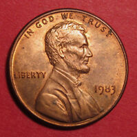 1983 LINCOLN MEMORIAL CENT DOUBLED DIE DDO 001 FS 101  SHARP STAGE B LCR TOP 50