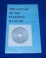THE COINAGE OF THE PALESTINE MANDATE 2ND ED. 1971 BY RICHARD J. TROWBRIDGE