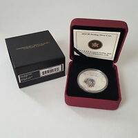 2010 $8 STERLING SILVER COIN   MAPLE OF STRENGTH