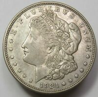 1  1921 MORGAN SILVER DOLLAR VG XF CONDITION  MINT VARIES  SILVER INVESTMENT