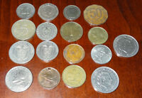 LOT OF  16  MISC. COINS FROM PANAMA NEDERLAND CHILE SRI LANKA & MORE