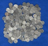 1943 LINCOLN STEEL WHEAT PENNIES   LOT OF 250 MIXED CONDITION