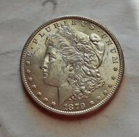 1879 MORGAN SILVER DOLLAR  FROM BU ROLL  ORIGINAL LUSTER