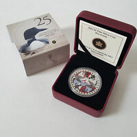 2012 $1 FINE SILVER COIN   TWO LOONS