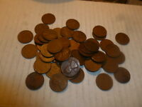 1946 D LINCOLN CENT PENNY ROLL CIRCULATED PENNIES 3900 COINS COIN 78 ROLLS WHEAT